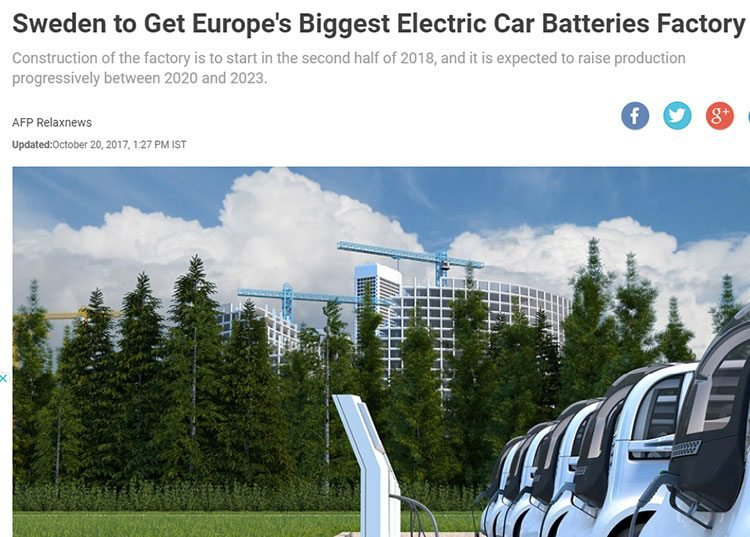 Sweden electric cars
