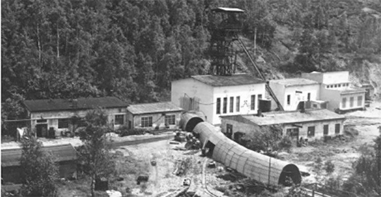 Tisova mine 1965