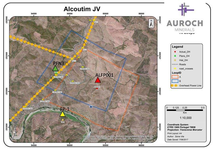 Alcoutim Auroch minerals
