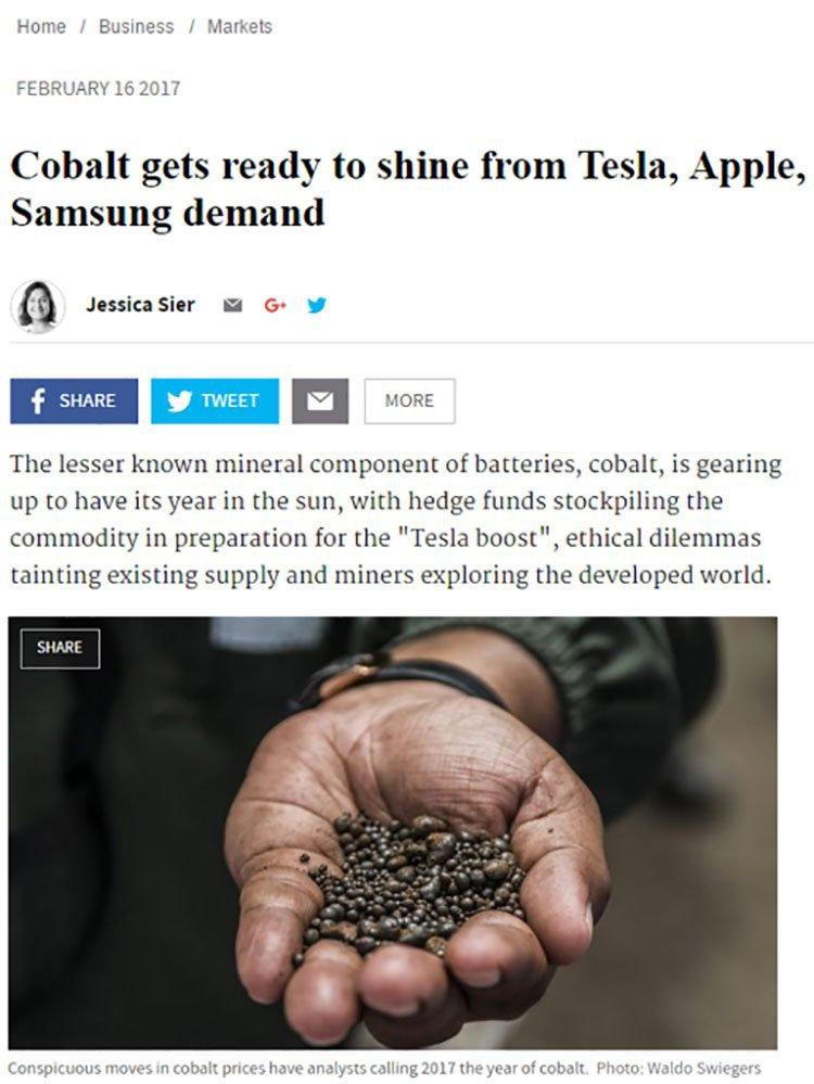 Cobalt apple