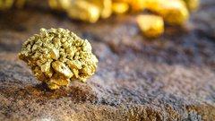 Gold Mining Rocks