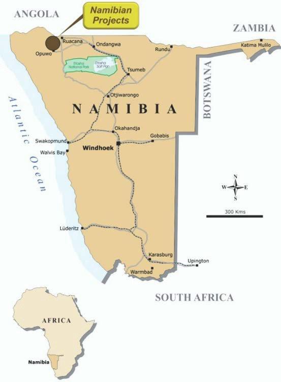 Namibia mining industry