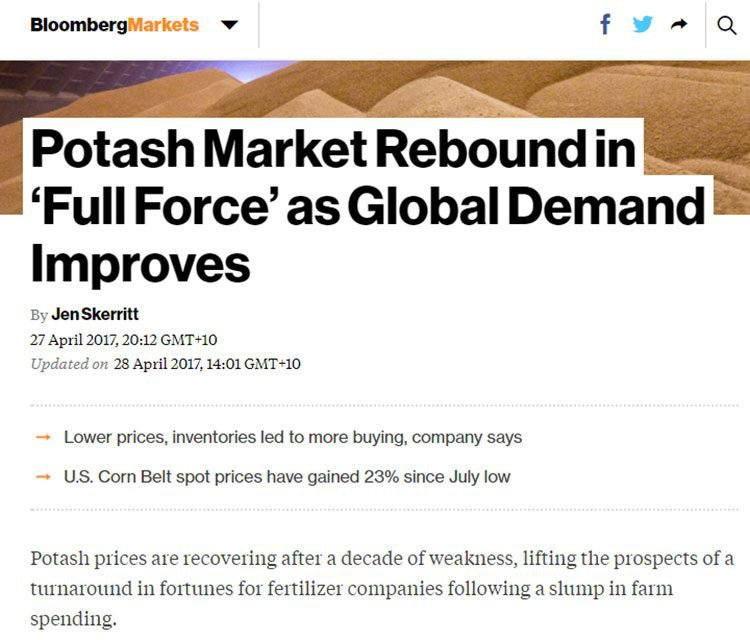 potash industry