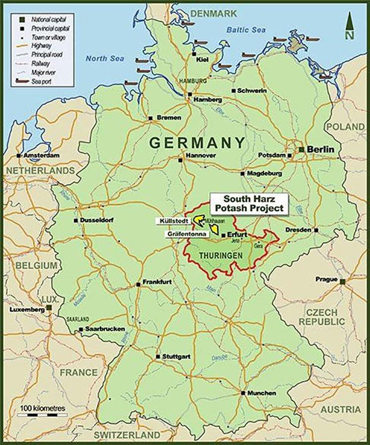 South Harz potash project
