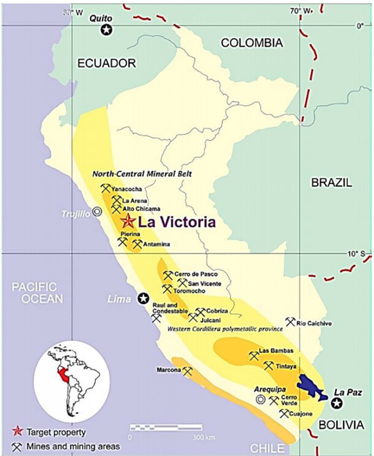 La Victoria silver and gold project