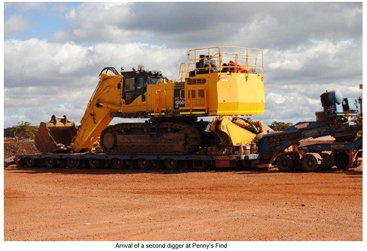 Mining digger