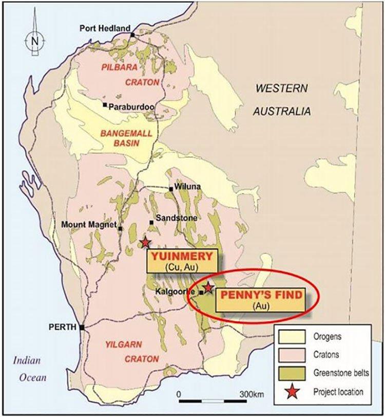 Penny's find western australia
