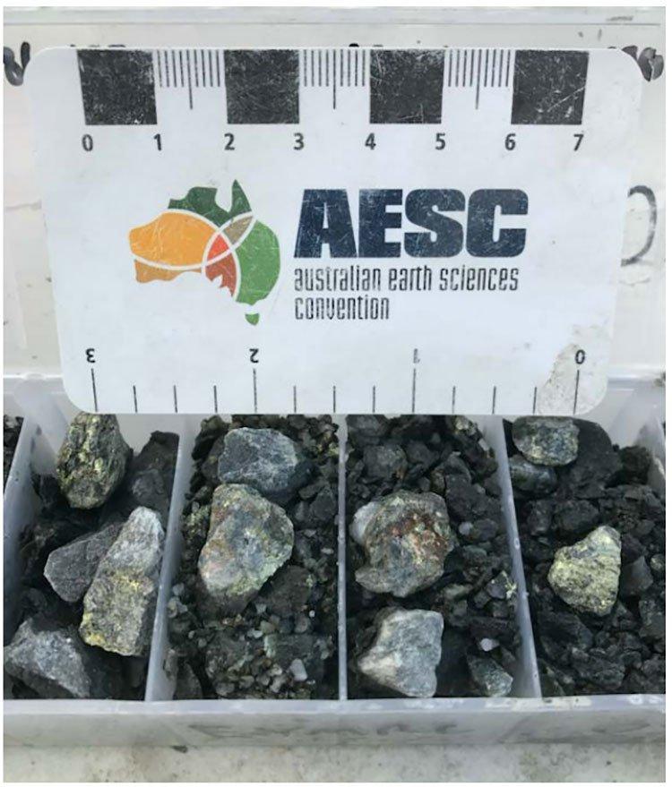 EYM mineralisation