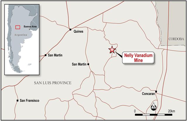 HDY to Acquire Established Vanadium Mine