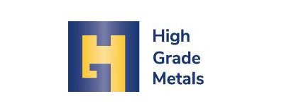 High grade metals logo