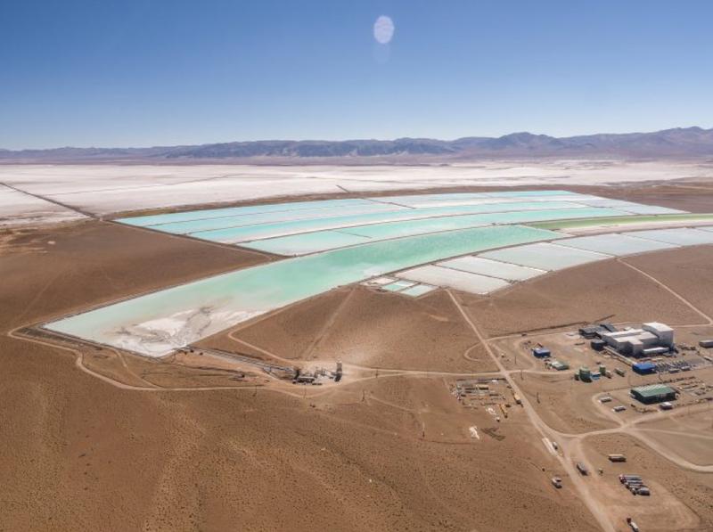 Orocobre's Salar de Olaroz brines project, Argentina