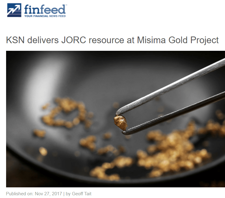 Kingston resources finfeed