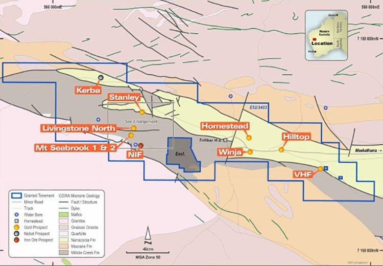 Livingstone project geology