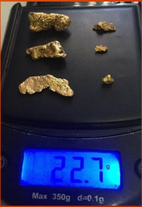 Minrex gold nuggets pilbara