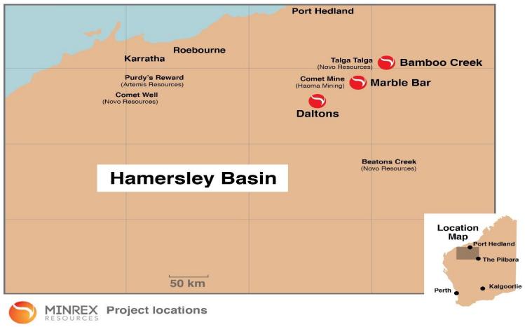 hamersley basin gold region