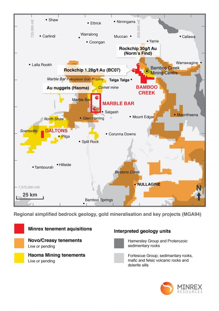 minrex resources map