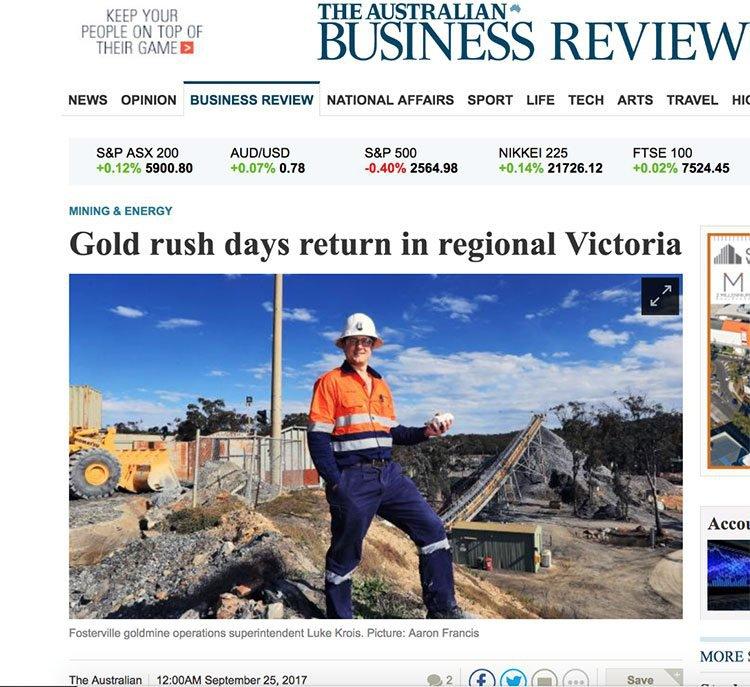 Victorian gold rush