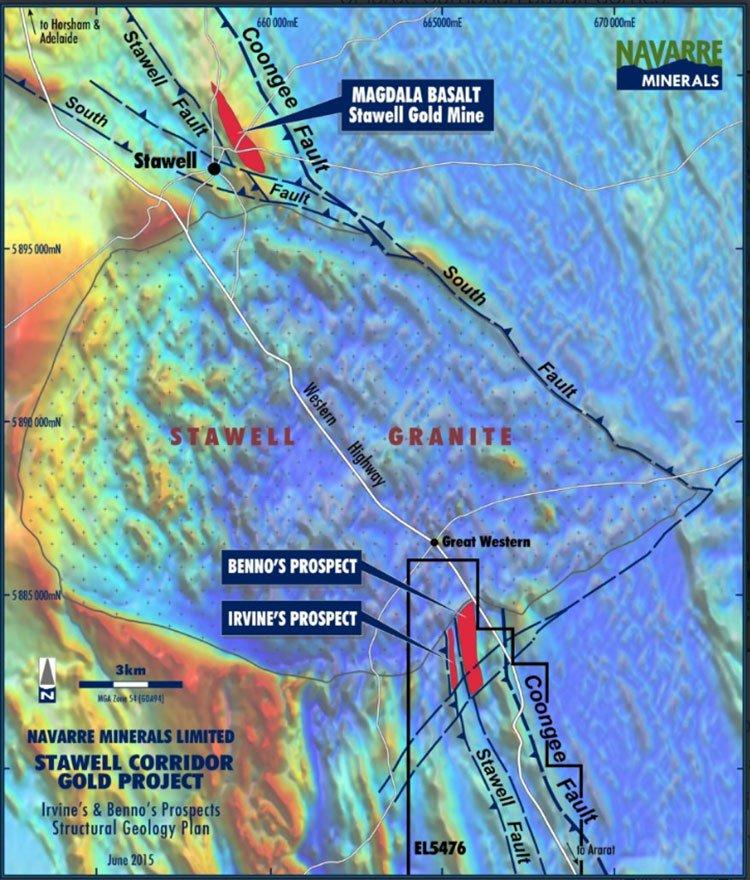 Stawell gold mine