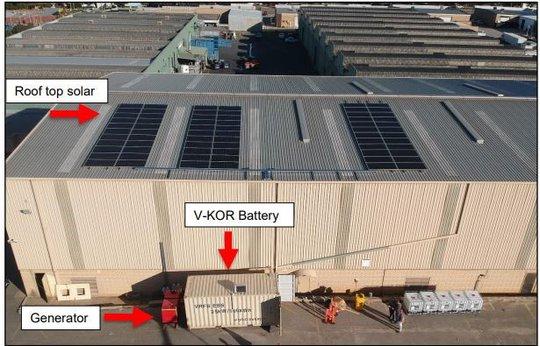 POW Installs First Vanadium Battery in Australia