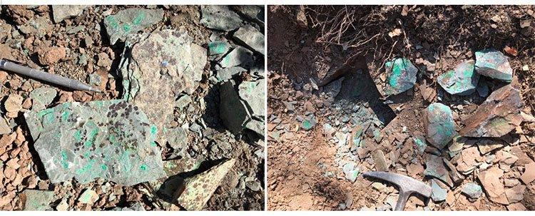 Copper mineralisation