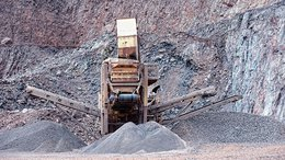 Stone Crusher Machinery At Open-pit Mine