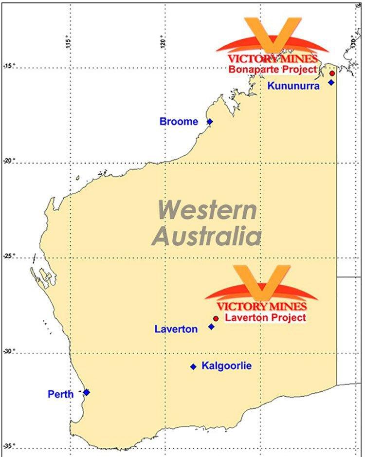 Victory mines western australia
