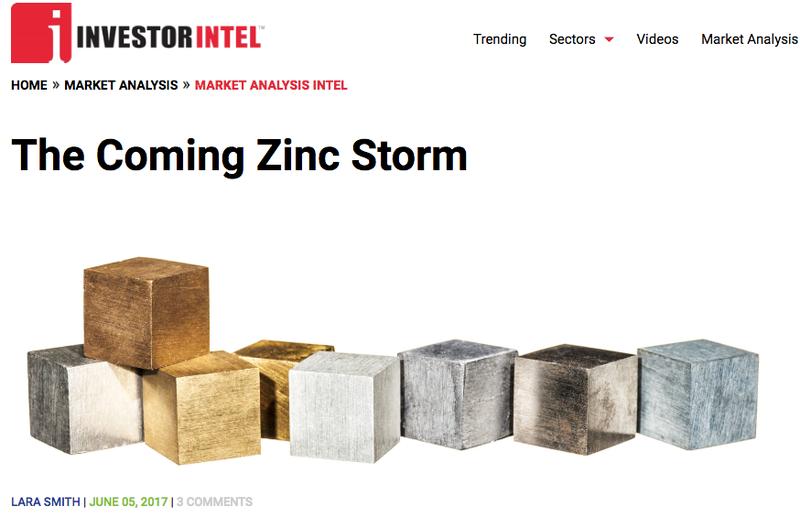Zinc storm