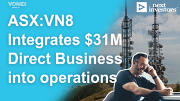 Vonex Integrates $31M Direct Business into its Operations