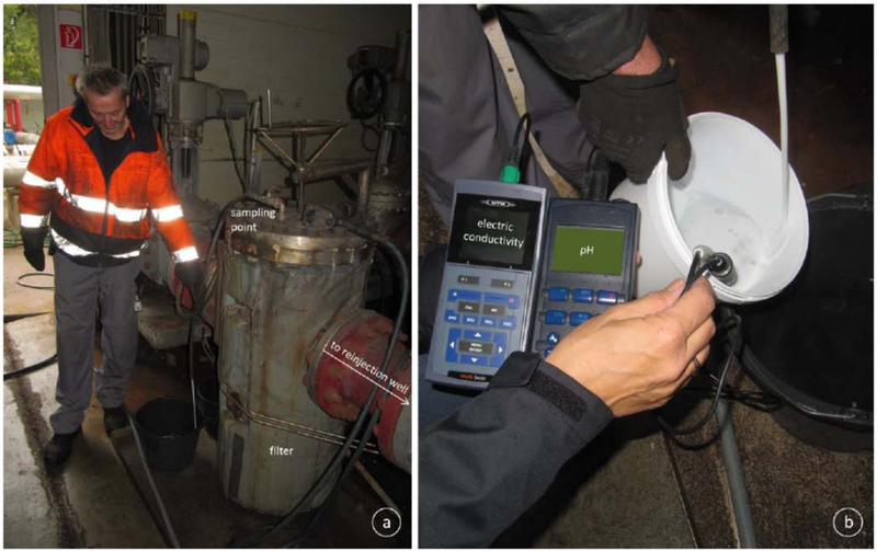 Confirmatory sampling of wells in Upper Rhine Valley by Vulcan team, and measurement of on-site brine parameters