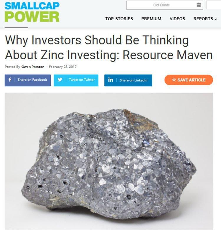 Zinc investing